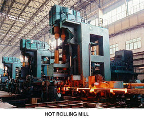 China Finishing Stand Hot Steel Rolling Mill Machinery , Automatic Steel Rolling Mill supplier