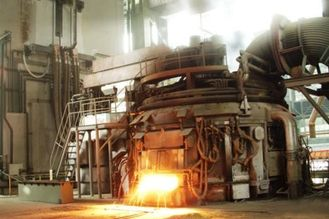 China Large Capacity Scrap Operation Electric Arc Furnace / Electric Aluminum Furnace supplier