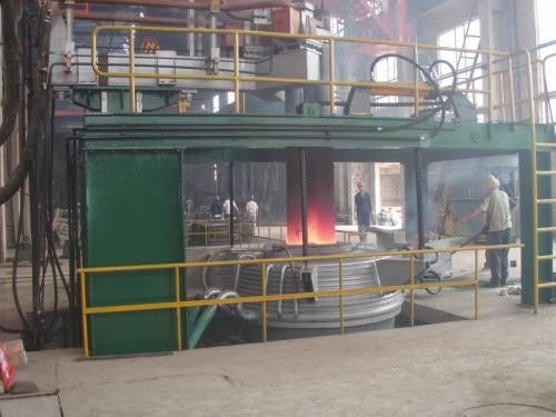 China scrap and sponge iron Stainless Steel Alloy steel Electric Furnace Homemade Electric Melting Furnace supplier