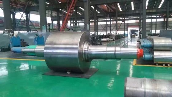 China Horizontal Centrifugal casting roll and Ductile Iron Steel Mill Rolls supplier