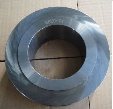 China Medium Coarse Material Cemented Tungsten Carbide Roll Rings applying to Hot Rolling Mill supplier