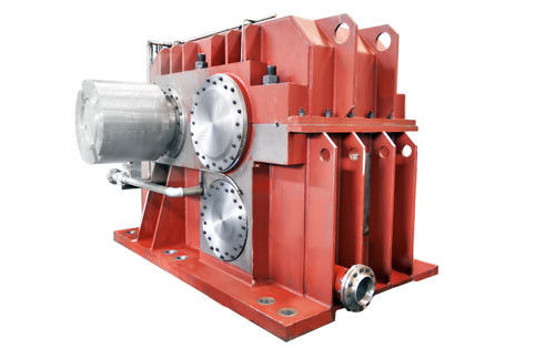 China Parallel Shaft Mounted Speed Reducer Gearbox / Cast Steel Standard 90 Degree Gearbox supplier
