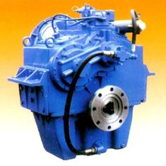 China Double Shunting Structure Electrically Control Way Speed Reducer Gearbox supplier