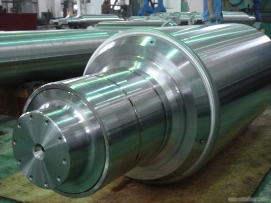 China Cold Forged roll Adamite Steel Rolls cast steel roll cast iron roll factory