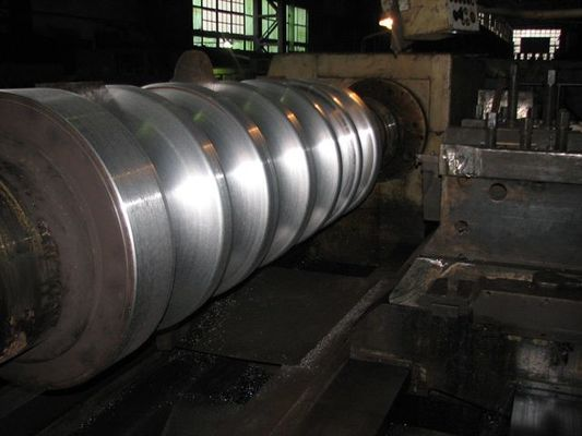 China Gravity Castin Chilled Cast Iron Rolls , Centrifugal Casting Forged Steel Rolls distributor