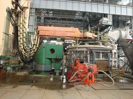 China Low Current Operation Horizontal Electric Furnace General To Produce Common Carbon Steel distributor