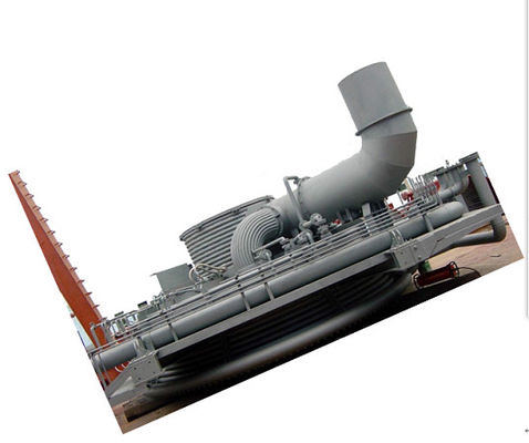 China Electrical arc furnace Water Cooled Panel tunnel furnace steel iron making furnace factory