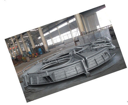 China Stable Operation Water Cooled Panel Electric Arc Furnace Shell Cover lifting and rotary device distributor