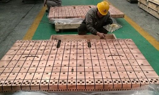 China copper mould cystallizer applying for High speed thin plate DUE caster factory