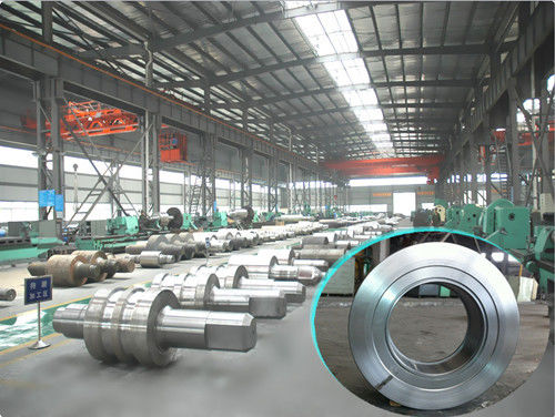 China OEM Offered Chilled Cast Iron Rolls , Large Blooming Chilled Rolls For Roller Flour Mills distributor