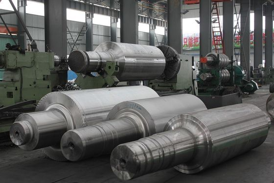 China Large Size and High Hardness Backup roll and Intermediate Chilled Cast Iron Rolls factory