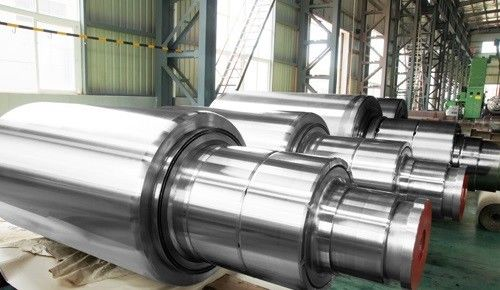 China Cr1 Cr2 Cr3 Cr5 Cr8 Cr12 Forged Steel Rolls work roll backup roll for hot and Cold Rolling Mill factory