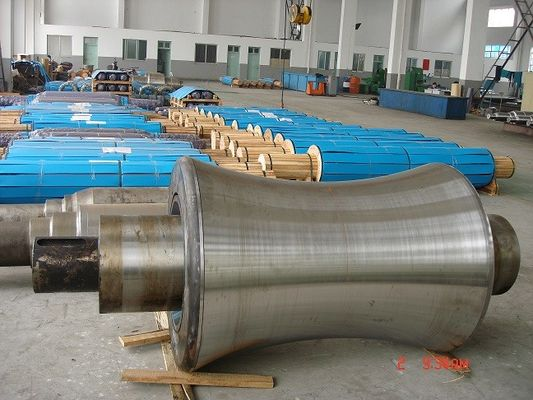 China High Thickness Adamite Rolls For Steel Rolling Mills Hot Steel Roller Mill Rolls straightening machine factory