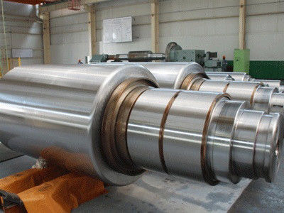 China HSS forged steel rolls 4-Hi roll 6-Hi roller 20 high roll rolling mill roll factory