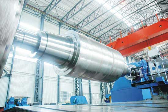 China 2hi 4hi 6hi 8hi 12hi 14hi Large Size Forged Steel Rolls and Cold Rolling Mill Rolls with ISO Certification factory