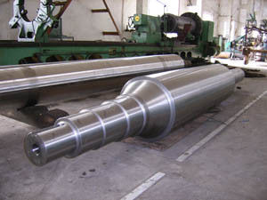 Cr1 Cr2 Cr3 Cr5 Cr8 Cr12 Forged Steel Rolls work roll backup roll for hot and Cold Rolling Mill