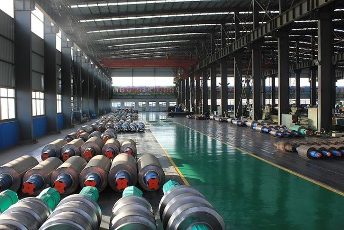 Horizontal Centrifugal casting roll and Ductile Iron Steel Mill Rolls