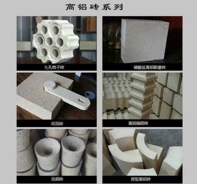 Industrial Magnesite Furnace Refractory Bricks High Heat For Furnace Slag Zone Purging