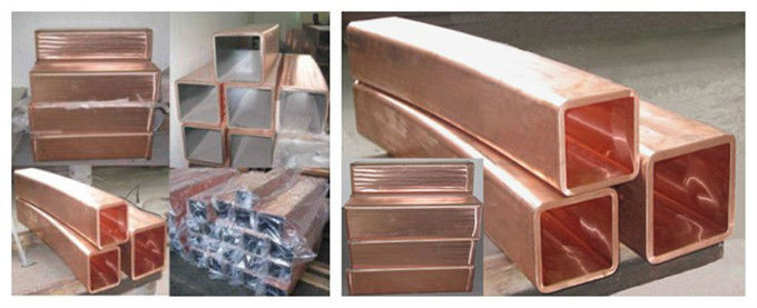 Intergrated Type Copper Mould Tube For CCM Round Square Rectangular Billet Shape