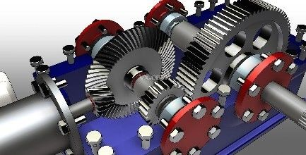 High Power 2 Speed Industrial Gearbox For Cold Rolling Mill , ISO9001 Certification