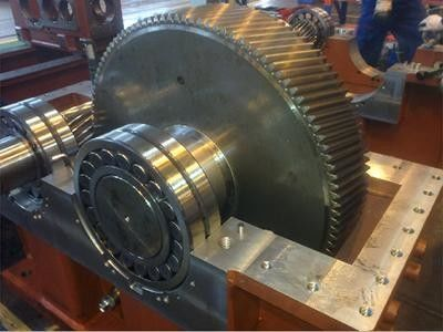 High Reliability Speed Reducer Gearbox Vertical Type Apply To Bar Production Line gear box