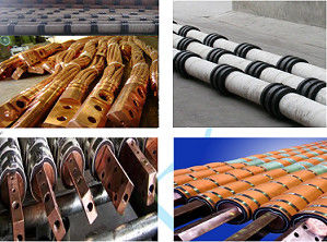 Voltage Resisting Water Cooled Power Cable with Wear Resistance High Current Manual Operation